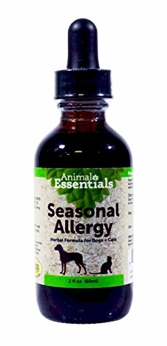 0ANIV Animal Essentials Seasonal Allergy Herbal Formula for Dogs + Cats 2 fl oz by 0ANIV