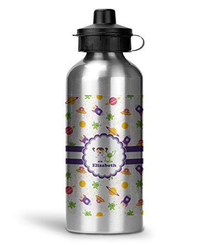 girls space themed water bottle