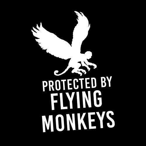 Funny Protected By Flying Monkeys 6