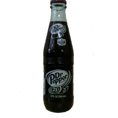 (Original Dr. Pepper Made with Imperial Cane Sugar 2 - 6 Packs (12 - 8 Oz. Glass Bottles) (Not Dublin))
