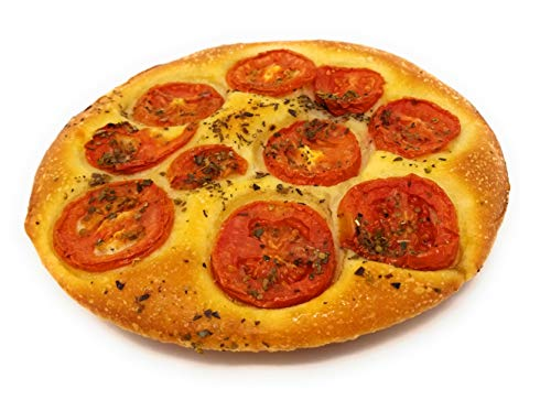 Baked in Brooklyn - Fresh Baked Focaccia - 3 Pies - All Natural Ingredients - Made Fresh per Order - Fully Cooked - Frank and Sal Bakery ()
