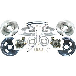 The Right Stuff Detailing AFXRD07 75-81 Camaro/Firebird. Rear Disc Brake Conversion kit with parking brake. Staggered -