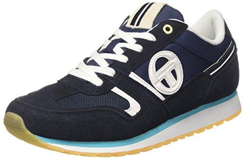 Sergio Tacchini Les Club, Sneaker a Collo Basso Uomo Blu (Navy)