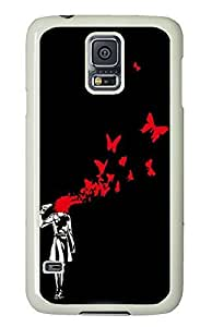 Samsung S5 case carry covers Set Free PC White Custom Samsung Galaxy S5 Case Cover