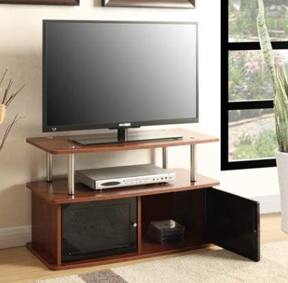 Amazon Com Living Room Furniture Tv Stands Table Cabinet Cherry