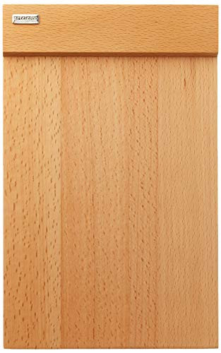 (Artelegno Solid Beech Wood Set of 4 Multi-Purpose Plates, Luxurious Italian Firenze Collection by Master Craftsmen, Eco-friendly, Natural Finish)