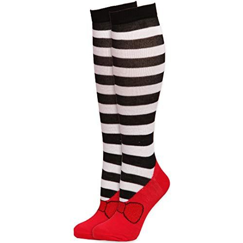 (Wizard of Oz Wicked Witch of the West Striped Knee High Sock )
