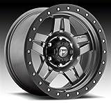 fuel anza wheels - Fuel Offroad D558 Anza 16x8 6x139.7 +1mm Anthracite Wheel Rim