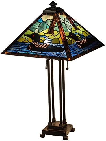 Meyda Tiffany 81055 Lighting, 30 H, Bronze Dark