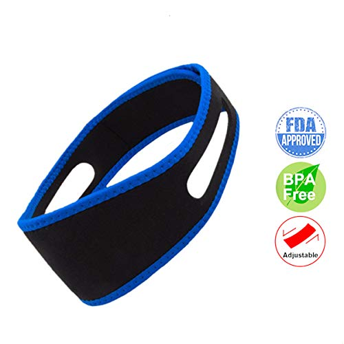 Anti snoring Devices, Anti Snoring Chin Strap, Advanced snoring Solution, Snore Reducing Aids Snore Stopper Chin Strap, Stop Snoring Sleeping Aid for Snoring Women and Men
