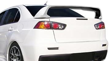 Car Rear Trunk Lip Spoiler Wing For Mitsubishi Lancer Evo X 10 2008-2017 !