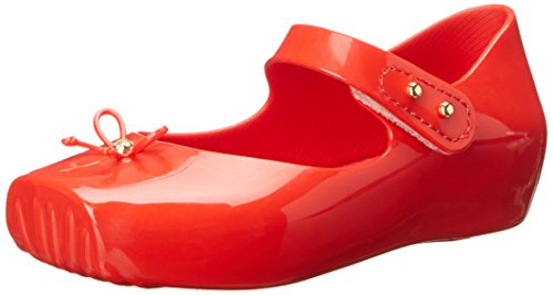 Toddler Girl's Mini Melissa Ballet Slip-On, Size 8 M - Red