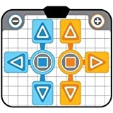 OSTENT Antideslizante Fiesta 2 Cojín Alfombra Baile Compatible con Nintendo Wii GameCube NGC Consola Active Life Juegos