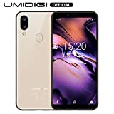 UMIDIGI A3 Cell Phone with 5.5' Screen 16GB+2GB Ram Android 9.0- Triple Slot, 2 NanoSIMs+Micro-SD 12MP + 5MP Dual Camera Fingerprint ID 3300mAh Battery Unlocked Smartphones - Gold