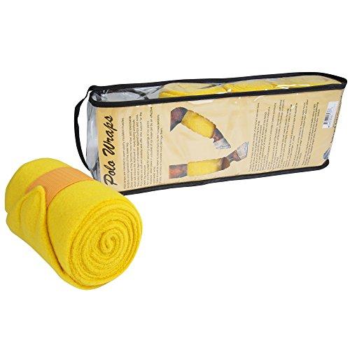 (Intrepid International Polo Wraps Full Set, Yellow)
