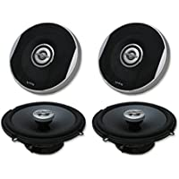 4 x Infinity Primus 6.5 2-way Car audio coaxial speakers