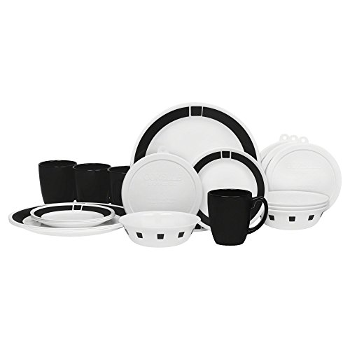 corelle-20-piece-livingware-dinnerware-set-with-storage-urban-black-service-for-4
