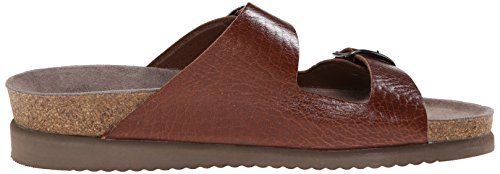 Mephisto Womens Harmony Leather Sandals Tan Grain