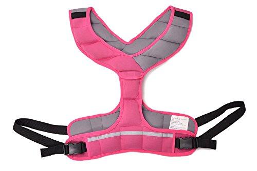 Zeyu Sports Walking Fitness Weighted Vest 8LBS/3.6KG Pink Women Running