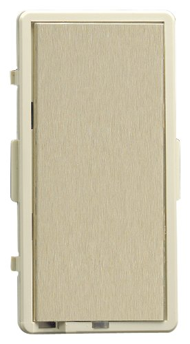 Leviton TTKIT-GI, Color Change Kit For True Touch Dimmer, Ivory Frame-Gold Touch Plate