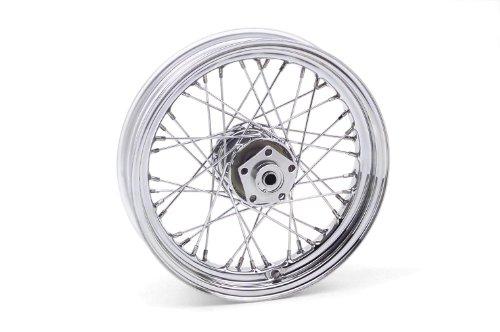 "Bikers Choice Dual Flange Wheel 16"" for Harley FL FX 73-83"