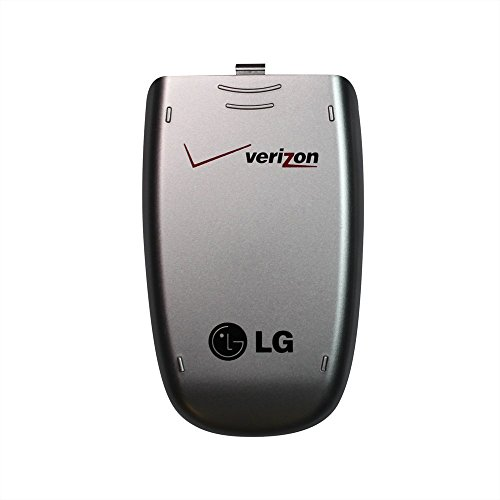 LG VX5200 Silver OEM Genuine Verizon Back Cover Battery ()