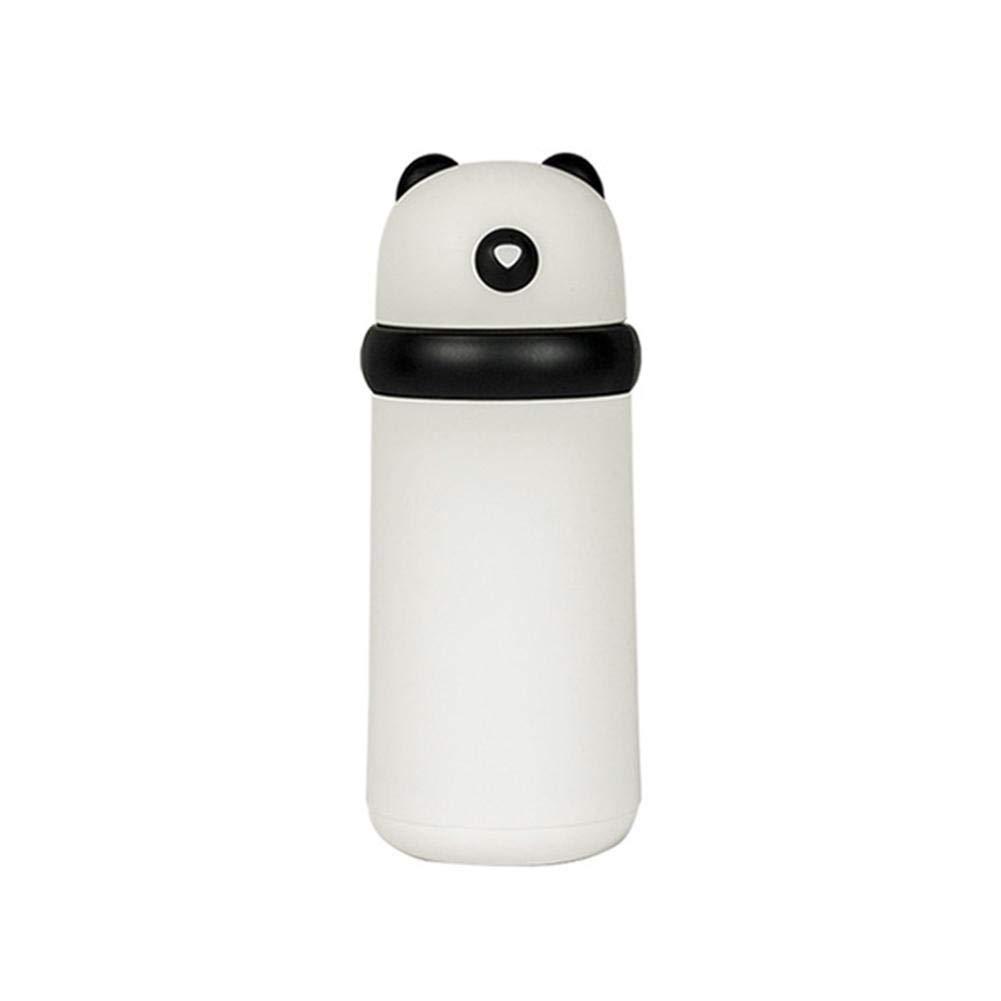 Botella de Vidrio Recipiente de Vidrio con Tapa Taza de café Reutilizable portátil de 320 ml con Funda Protectora de Silicona, Ideal para Bebidas Calientes ...