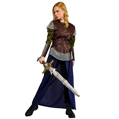 Female Historic Cool Warrior Fancy Dress Costume (L)