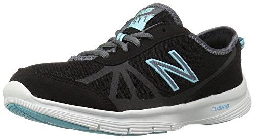 New Balance MRUSH D Zapatillas para Hombre Negro/Celeste