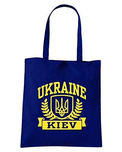 T-Shirtshock - Bolsa para la compra TSTEM0126 ukraine kiev Azul Marino