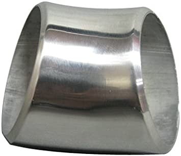 """1.5/"""" 304 Stainless Steel Elbow 90 Degree Pipe Polished SS Tube 3mm"""