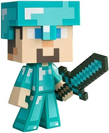 Minecraft Diamond Steve - Figura Coleccionable (Vinilo) - Figura ...