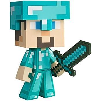 Amazoncom Minecraft Diamond Steve Vinyl Toys  Games
