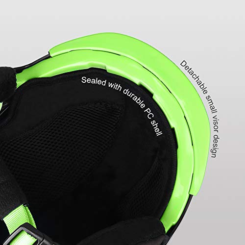 Ski-Snow Helmet for Kids-Youth-Women-Men - Snowboard Helmet Pass ASTM Certified Safety, 3 Sizes Options