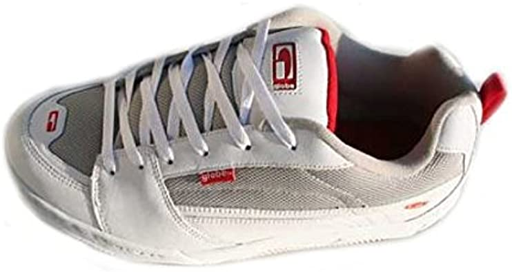 Globe Crenshaw White Red, Blanco (Blanco), 36: Amazon.es: Zapatos ...
