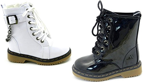 DEV Toddlers Kids Combat Winter Boot Shoes