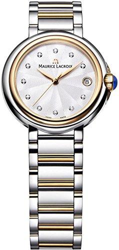 Maurice Lacroix Fiaba Round Wristwatch for women with genuine diamonds