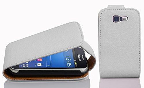15 opinioni per Cadorabo- Custodia Flip Style Design per Samsung Galaxy TREND LITE (GT-S7390)-