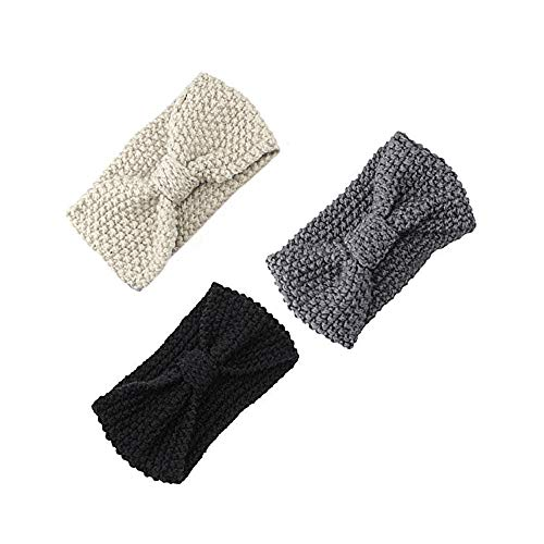 women hair ball knitting headband