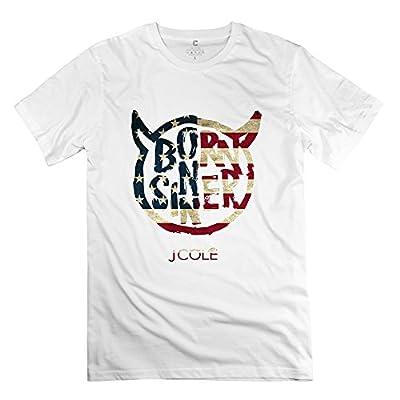 TBTJ J. Cole Born Sinner LOGO T Shirts For Men