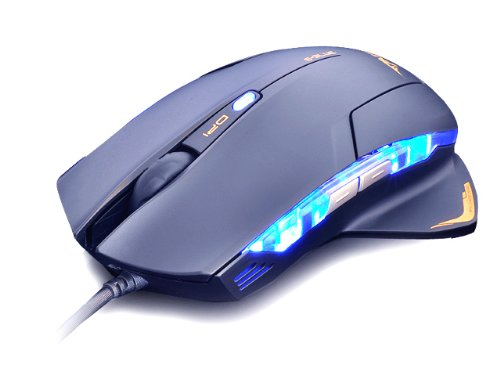 Black E-3lue E-Blue Mazer 1600 DPI LED USB Wired Optical Gaming Mouse