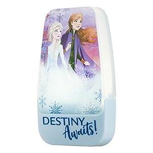 Disney Frozen Anna and Elsa Plug-in LED Night Light, Dusk-to-Dawn Sensor, Girl's Room Décor, UL-Listed Ideal for Bedroom…