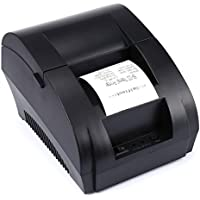 ZJ-5890K thermal printer 58MM small ticket printer USB interface printer black CHINESE plug