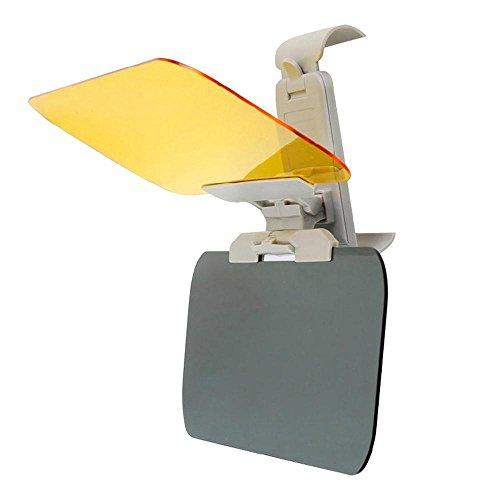 leegoal Anti Glare Visor, 2 In 1 Transparent Universal Day and Night Anti-glare Car Windshield Visor, Blocking UV Rays through Windshield