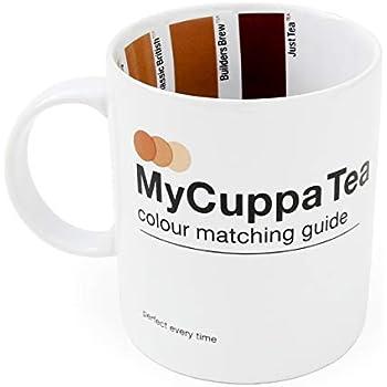 Amazon.com: SUCK UK My Cuppa Coffee Mug: Kitchen & Dining