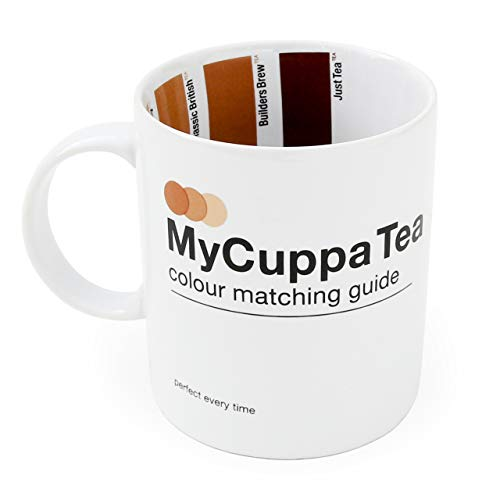 - Suck UK SK MYCUP1T Cuppa Tea HOT Drinks Mug-Novelty Gift for Brew Lovers, Multi