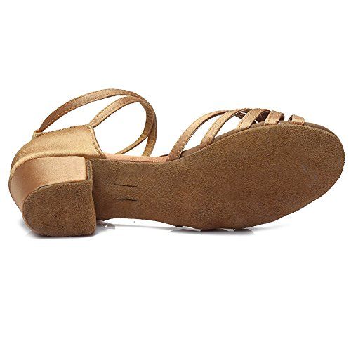 202 Beige Model Shoes Latin Dance Ballroom Girl SWDZM w4q7fxzf