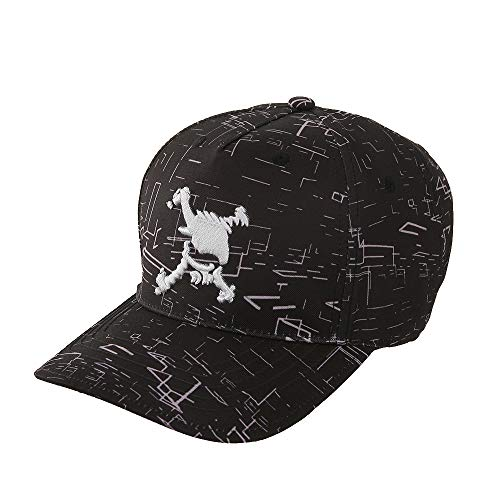 オークリー Skull 帽子 スカル グラフィック キャップ ブラックプリント フリー