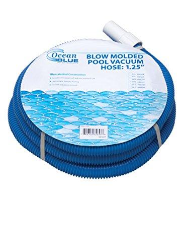 Ocean Blue Water Products 18 Foot Blow Molded Pool Vacuum Hose: 1.25