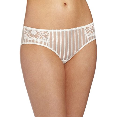 Felina Women's Camille Cheeky Panty Hipster Panty Pantie, Vanilla, (Camille Hipster)